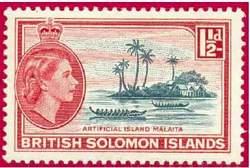 Почтовая марка Соломоновых островов