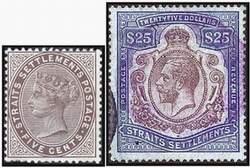 Почтовые марки Стрейтс-Сетлментса
