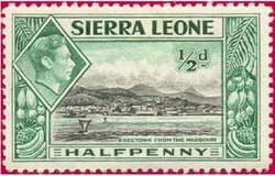 Почтовая марка Сьерра-Леоне