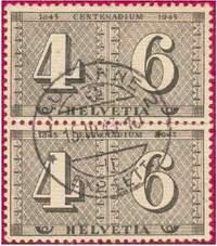 Почтовые марки Швейцарии