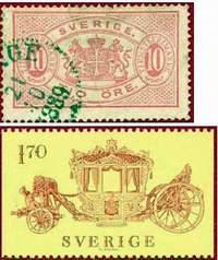 Почтовые марки Швеции