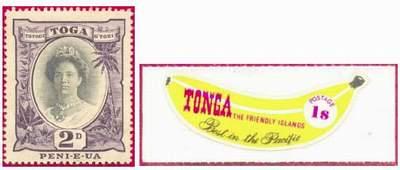 Почтовые марки Тонги