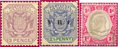Почтовые марки Трансвааля