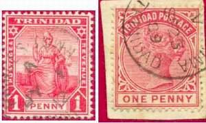 Почтовые марки Тринидада