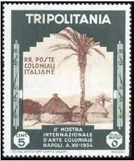 Почтовая марка Триполитании