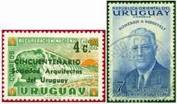 Почтовые марки Уругвая