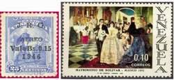 Почтовые марки Венесуэлы