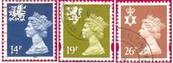 Выпуск региональный — почтовые марки Великобритании