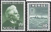 Выпуск правительства в изгнании — почтовые марки правительства Норвегии, находившегося в Великобритании в годы второй мировой войны