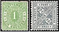 Почтовые марки Вюртемберга