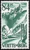 Почтовая марка Вюртемберг-Гогенноллерна
