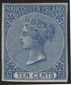 Почтовая марка Ванкувера.