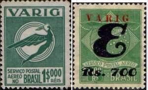 Почтовые марки Вариг.