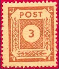 Почтовая марка Восточной Саксонии