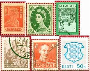 Стандарты. РСФСР, Великобритания, Белорусь, ГДР, Дания, Эстония.