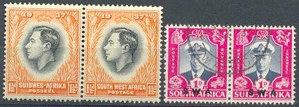 Марки Юго-Западной Африки