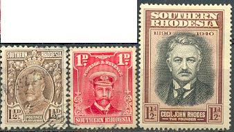 Марки Южной Родезии