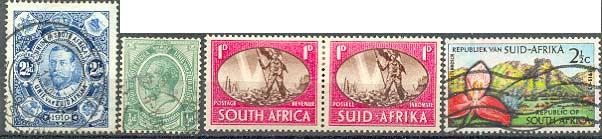 Марки Южно-Африканского Союза