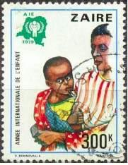 Почтовая марка Заира