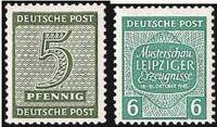 Почтовые марки Западной Саксонии