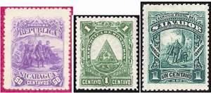 «Зеебека марки», выпушенные для Гондураса, Никарагуа и Сальвадора