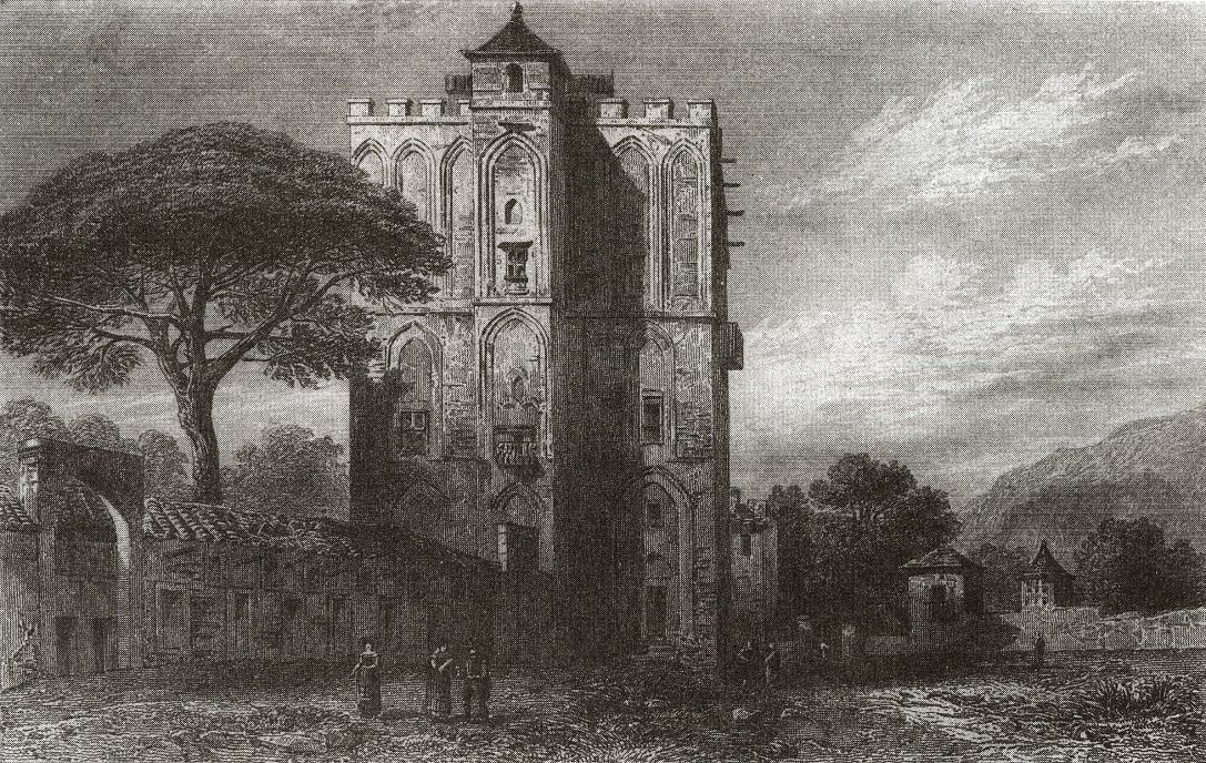 Дворец Делла Зиза, боковой фасад