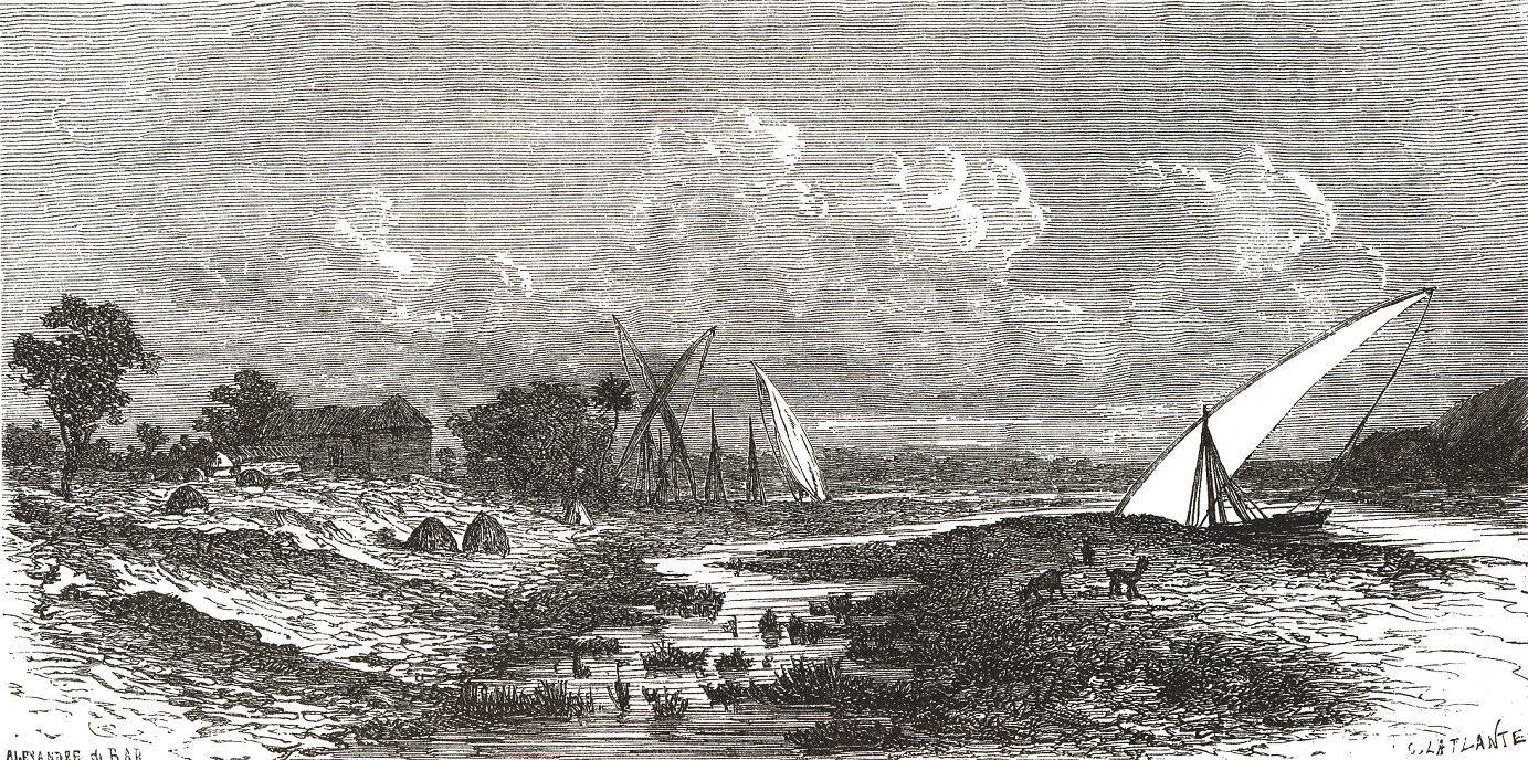 Гондокоро на Бахр-эль-Абьяде (Белый Нил)