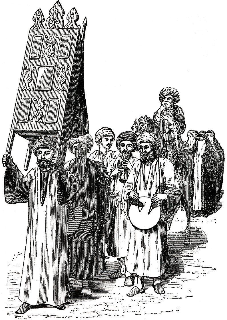 Процессия на улице Хартума