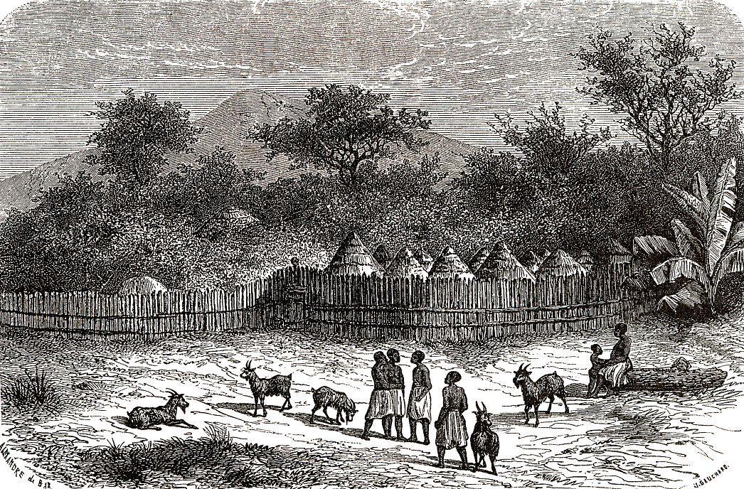 Селение на Голубом Ниле