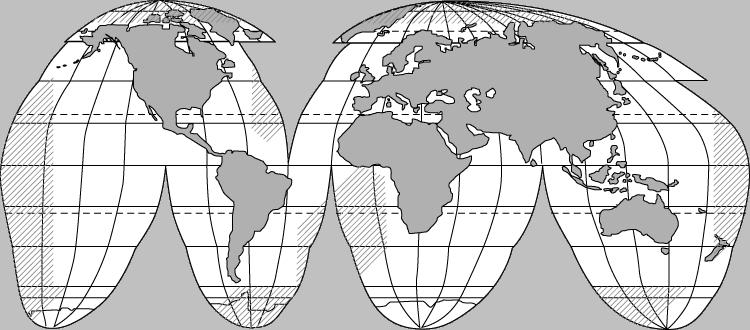 какие бывают способы изображения на карте