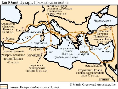 Диктатор в Риме.  Не подлежит сомнению, что с тех самых пор, как Цезарь повел активные боевые действия в Галлии...