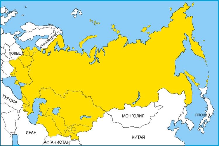 Положение на карте