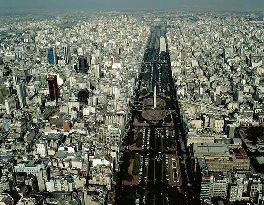 ЦЕНТР БУЭНОС-АЙРЕСА - столицы Аргентины