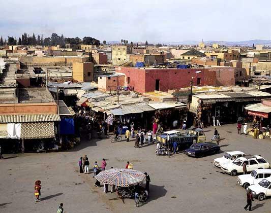 ЦЕНТР МАРРАКЕША (Марокко)