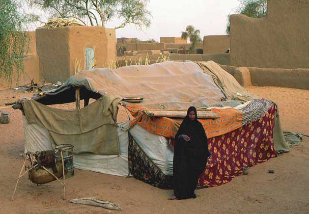 ЖИЛИЩЕ в Тамшакете (южная Мавритания)