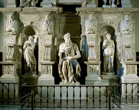 Микеланджело надгробие юлия 2 надгробие бетонное