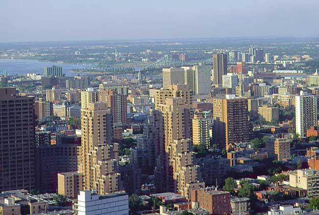 Крупнейший город канады монреаль