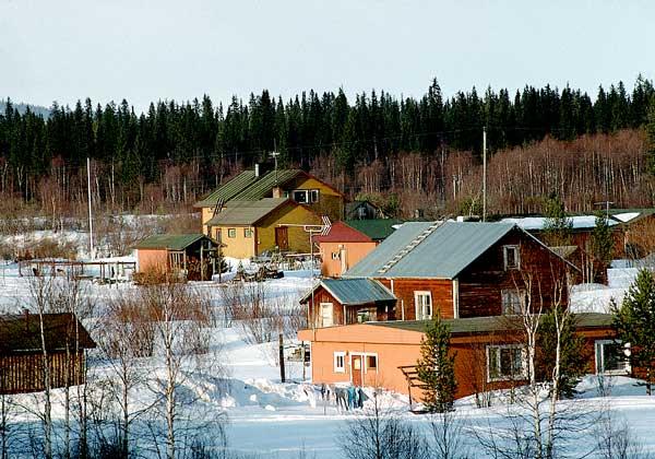 ЛАПЛАНДИЯ - территория Финляндии, лежащая за Северным полярным кругом.