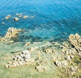 Разрушение берегов Японского моря