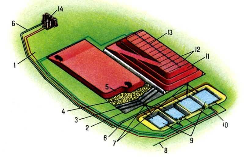 Конструктивная схема установки