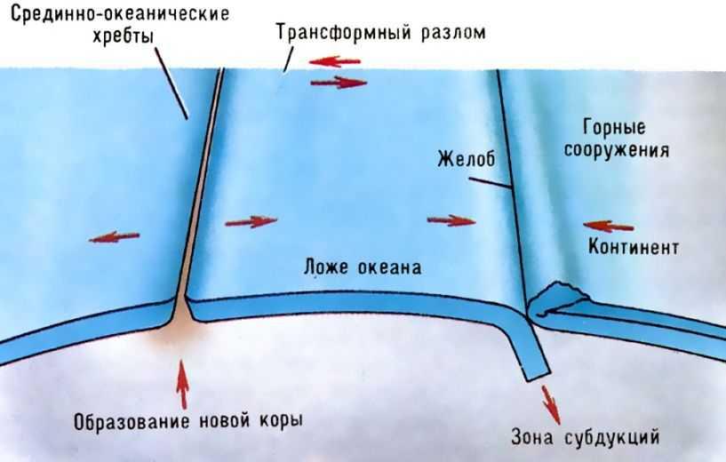 Схема механики движения