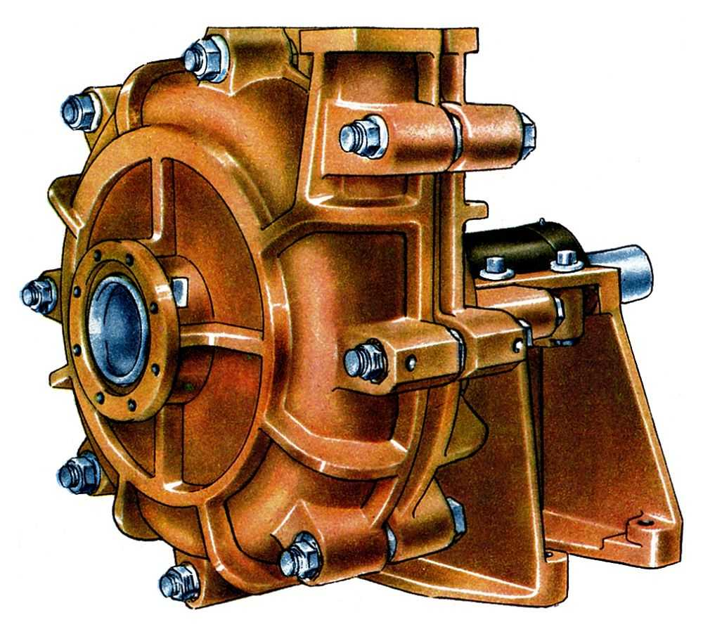 ГРУНТОВОЙ НАСОС (а. dredge pump, suction dredge, slurry pump; н. Erdpumpe...