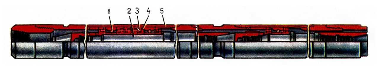 Забойный двигатель