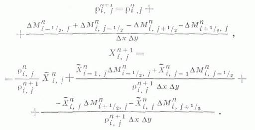 разностной схемы (схема