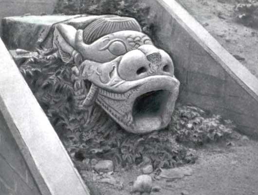 Голова дракона.