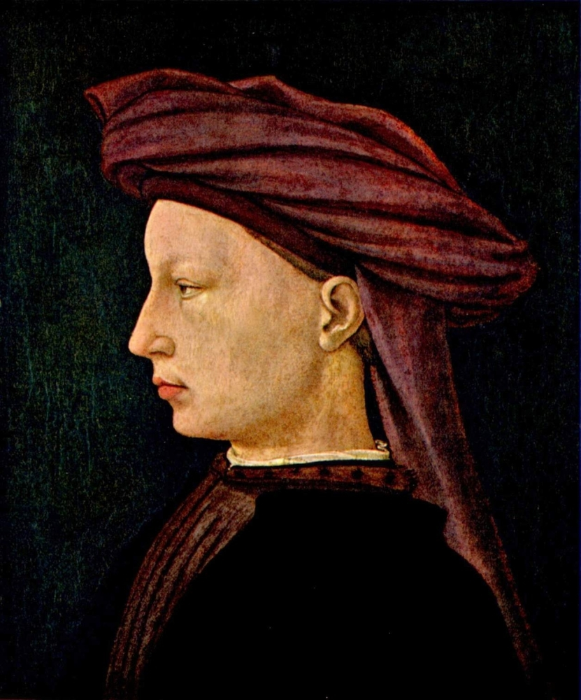 Portrat eines Junglings im Profil