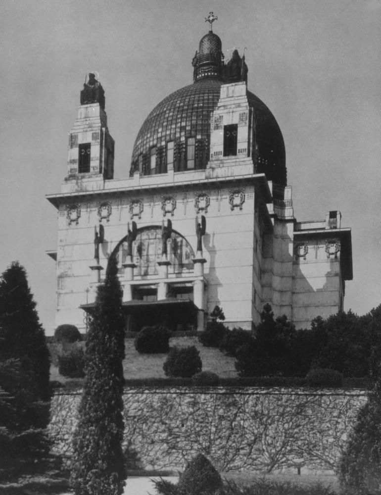 О. Вагнер. Церковь больницы Штейнхоф в Вене. 1904 - 1907.