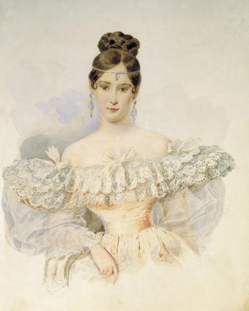 Наталья Пушкина. Портрет 1831