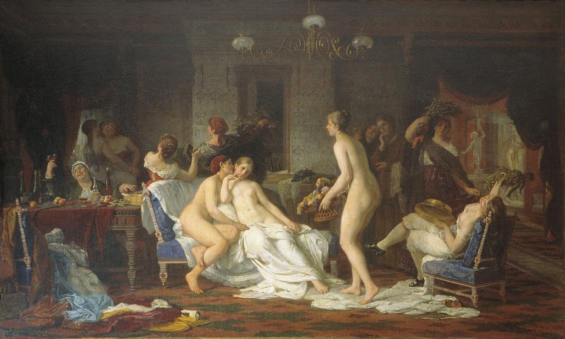 художественная эротика в картинах