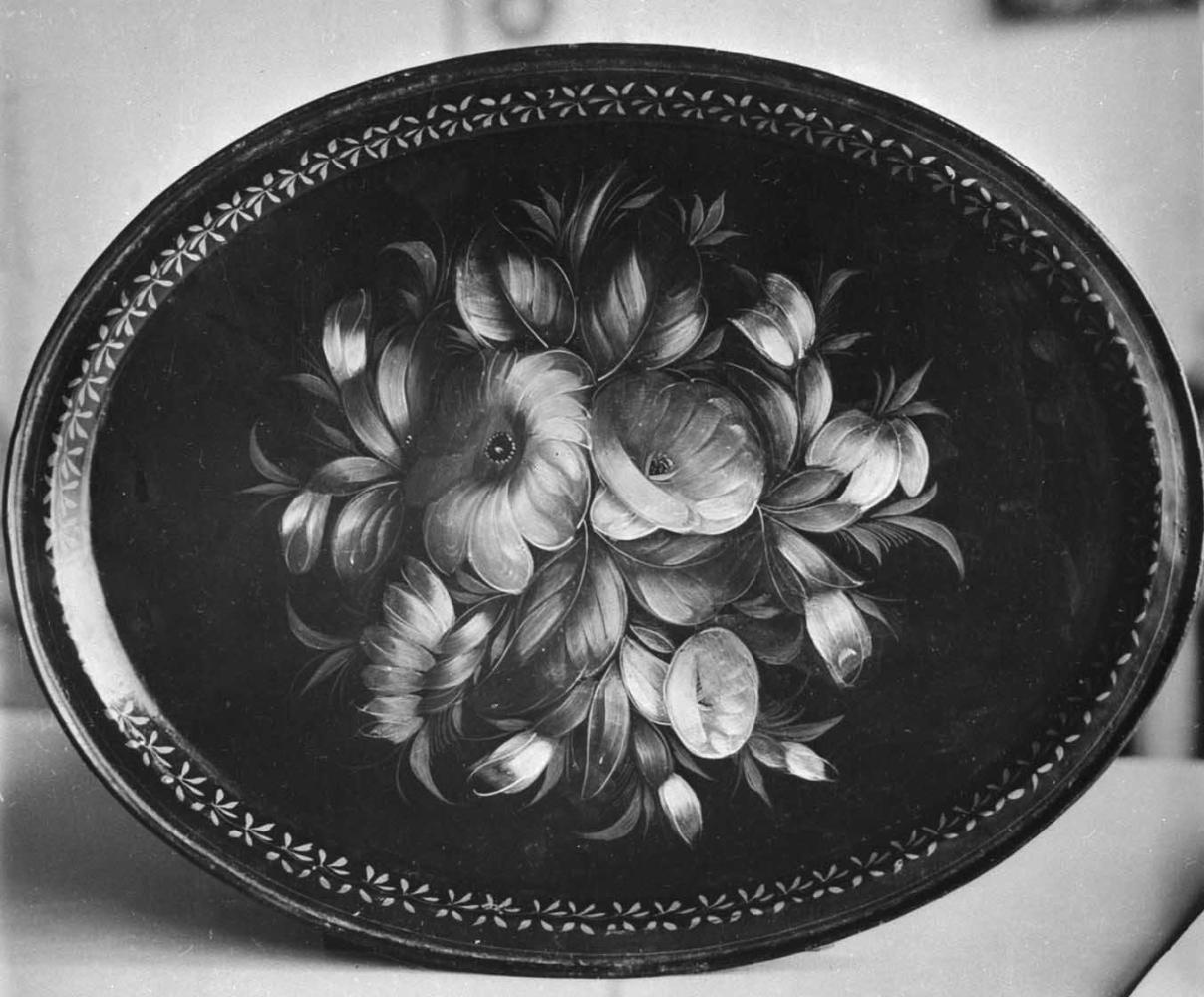 жостовская роспись черно белые картинки инструменты необходимы для